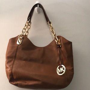 MK leather purse